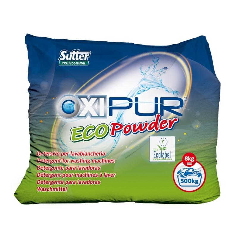 Pralni prašek Oxipur Ecopowder ECOLABEL 8kg, Sutter