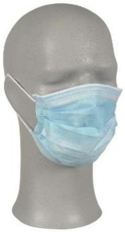 Zaščitna maska z elastiko 50/1