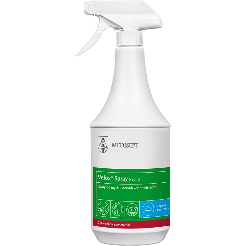 Razkužilo za površine Velox Spray 1 L, Medisept