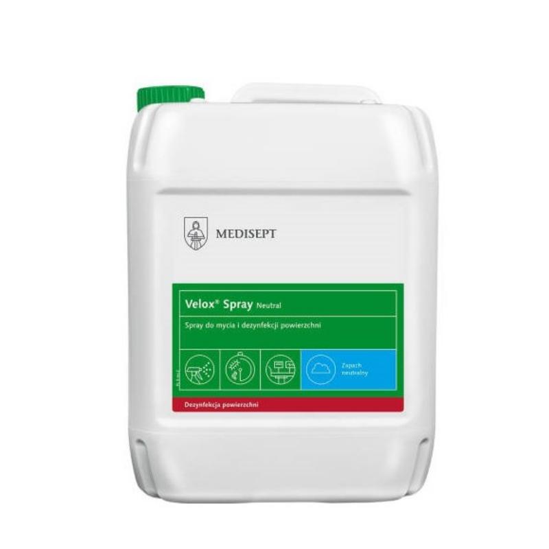 Razkužilo za površine Velox Spray 5L, Medisept